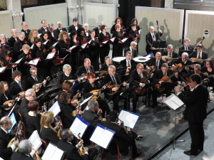 Concerto di Natale  palazzina Liberty